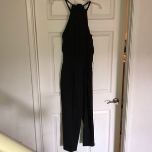 NWT halter style jumpsuit.